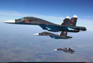 su-34 russia caccia bombardiere