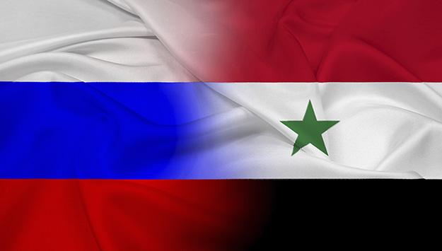 Russia-Siria-Bandiere