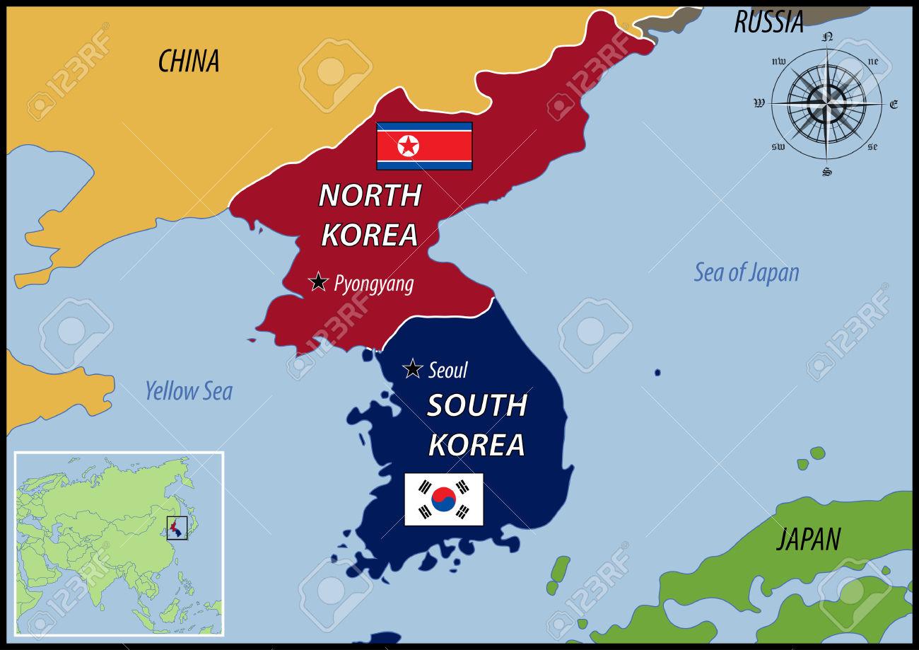 Cartina Mondo Corea.Conosciamo La Corea 2 Parte Torcia Politica