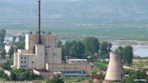 ( Centrale nucleare Corea del Nord di Yongbyon )