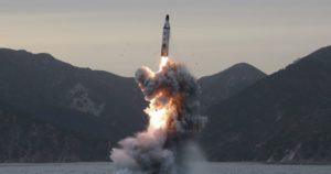 Missile sublanciato slbm corea del nord