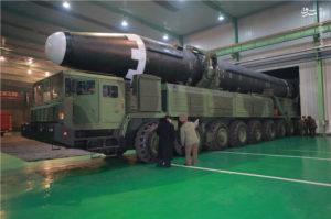 missile hwasong-15 corea del nord missili
