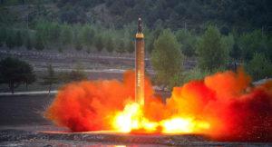 Missile Hwasong-12 corea del nord missili