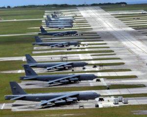 Base usa guam bombardieri corea del nord