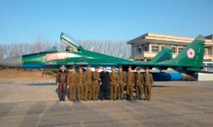 Corea del Nord aeronautica Mig-29 kim jong-un