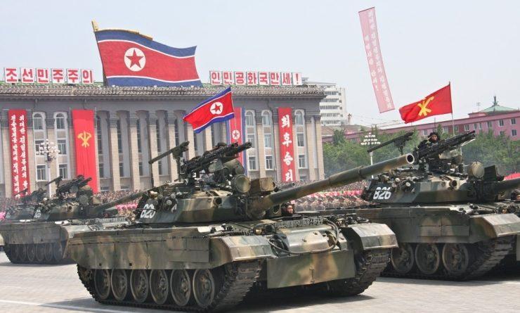 Corea del Nord tank pokpung-ho