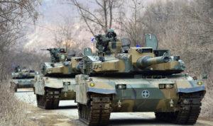 carri armati k2 panther corea del sud