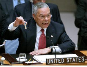 USA ONU ARMI PROVE ARMI CHIMICHE