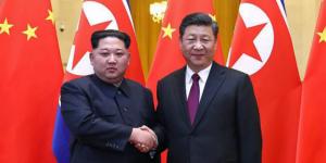 Kim Jong-Uun Corea del Nord e Xi Jinping Cina