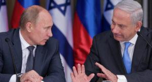 Russia Putin Israele Netanyahu