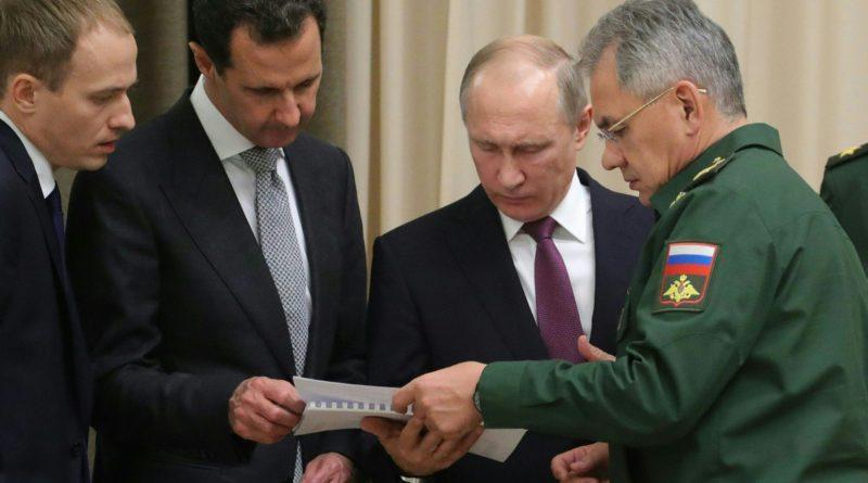 Siria Assad Russia Putin