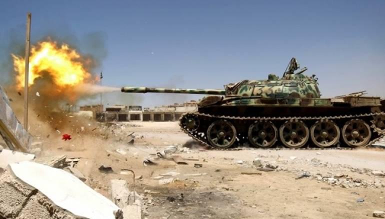 Carro armato confine Siria Giordania