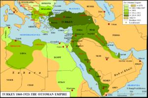 Mappa Impero Ottomano