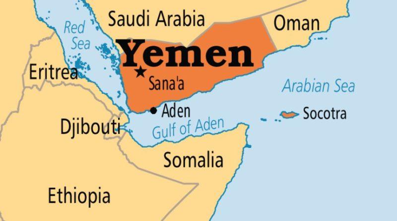 Yemen mappa