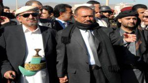 Il Presidente dello Yemen Saleh e il leader di al-Islah lo Sceicco al-Ahmar