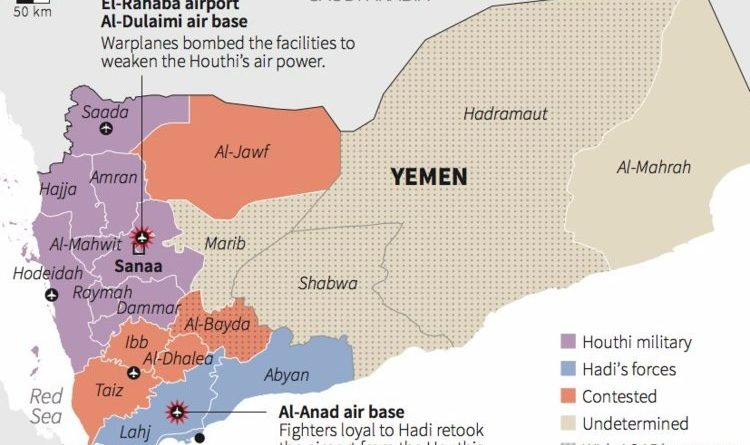 Yemen guerra civile ribelli houthi
