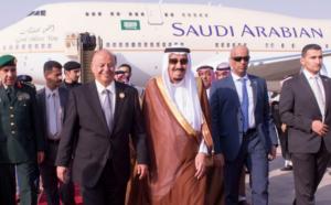 Presidente dello Yemend Hadi e Re Salman Arabia Saudita