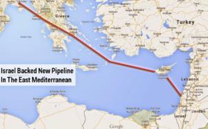 Gasdotto Israele Cipro Grecia giacimento gas Leviathan