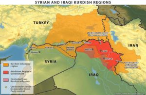 Presenza curda ai confini turchi