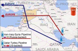 Gasdotti Siria Iran Qatar Arabia