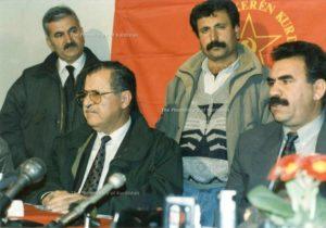 curdi Talabani PUK Ocalan PKK Kurdistan Iraq Turchia