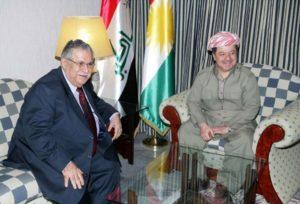 Jalal Talabani UPK Barzani PDK curdi kurdistan iraq