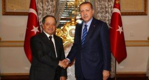Barzani PDK curdi kurdistan Iraq Turchia Erdogan
