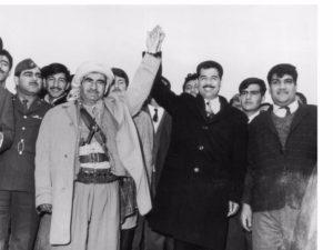 Barzani PDK curdi Kurdistan Iraq Saddam Hussein Baath