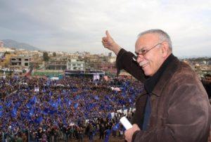 Nusherwan Mustafa Gorran curdi Kurdistan Iiraq