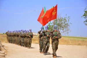 Miliziani comunisti curdi YPG siria