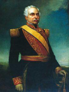 Josè Antonio Pàez Venezuela