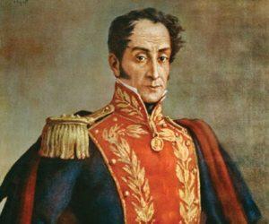 Simon Bolivar venezuela grande colombia