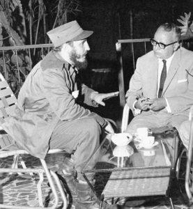 Presidente Venezuela Romulo Betancourt e Fidel Castro Cuba