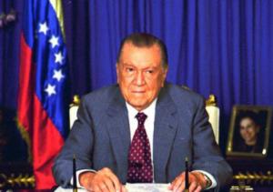 Presidente Venezuela Rafael Caldera COPAI