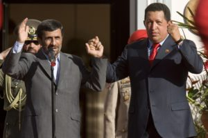 Venezuela Chavez Iran Ahmadinejad