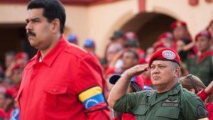 Presidente Vvenezuela Maduro e Diosdado Cabello PSUV