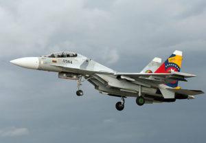Venezuela jet caccia Su-30 Russia