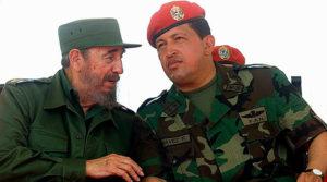 Presidente Venezuela Chavez e fidel castro cuba