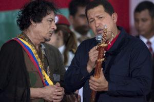 Venezuela Chavez Libia Gheddafi