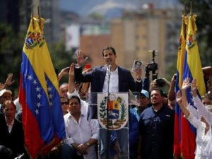 Guaidò Presidente interim Venezuela golpe costituzione