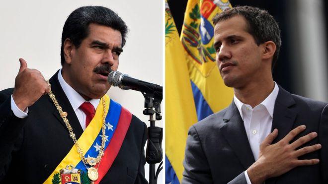 Presidente Vvenezuela Maduro Guaidò Assemblea Nazionale