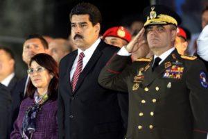 Presidente Venezuela Maduro Generale FANB Padrino