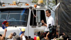 Guaidò Venezuela aiuti umanitari colombia