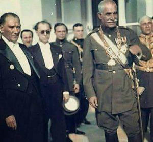 Turchia Mustafa Kemal Ataturk Iran Shah Reza Pahlavi