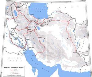 Ferrovia transiraniana Iran seconda guerra moindiale URSS aiuti USA lend lease