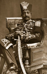 Shah Persia Naser al Din Qajar
