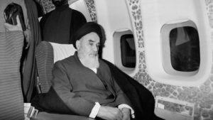 Ayatollah Ruhollah Khomeini Iran esilio