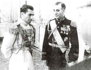 Shah Mohammad Reza Pahlavi Zahedi