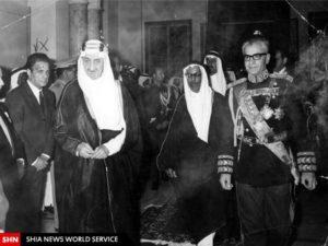 Re Faysal al-Saud Arabia Saudita Shah Iran Mohammad Reza Pahlavi