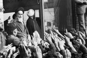 Ayatollah Ruhollah Khomeini Iran rivoluzione islamica